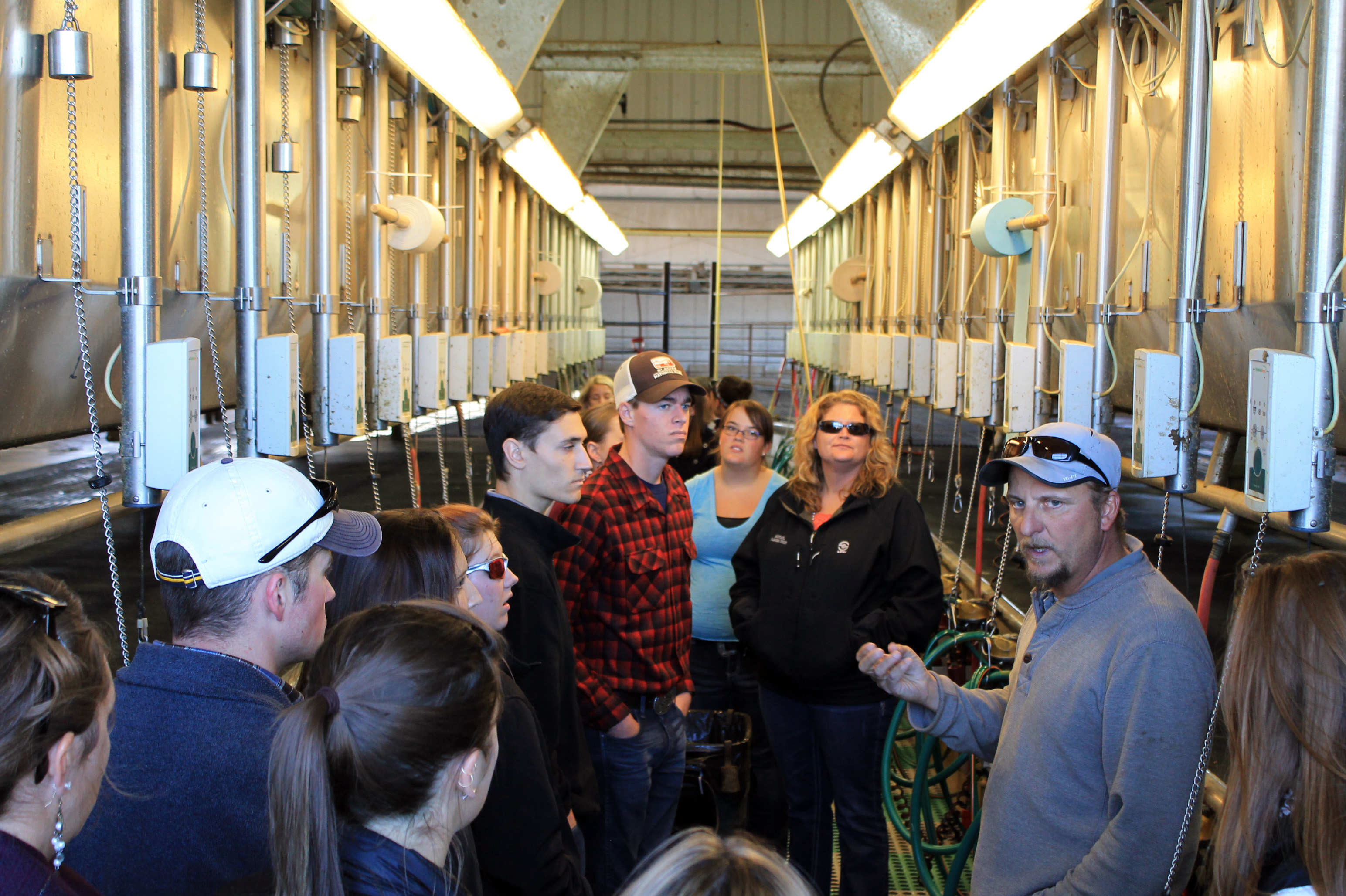 YALC Friday Tour Leep Dairy Parlor