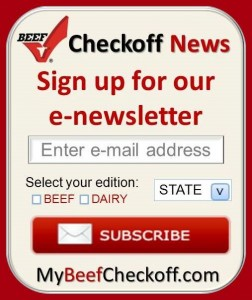 Sign up for Checkoff Updates at BeefBoard.org today!