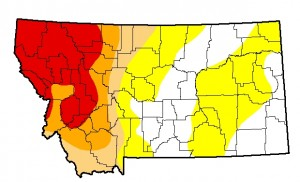 Montana Drought Monitor September 17