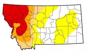 Montana Drought Monitor September 24