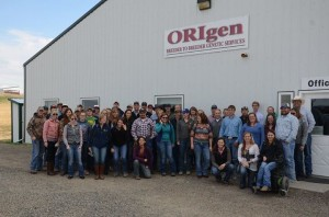 Montana Young Ag Leadership Conference Farm Tour Origen