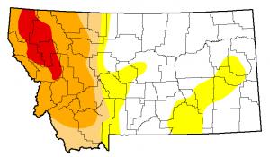 Montana Drought Monitor November 12