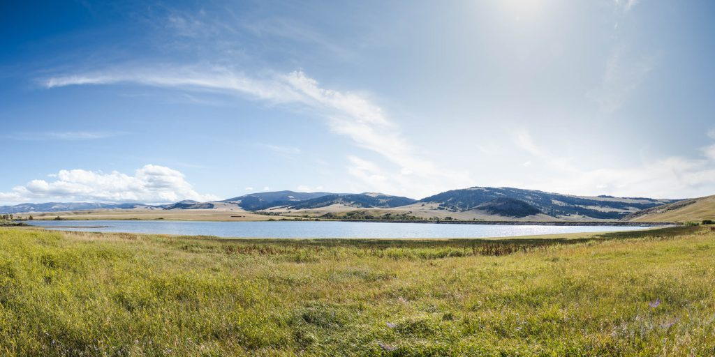 The Volseth reservoir.